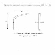 Кронштейн для Р/Г/ЖКУ настенный